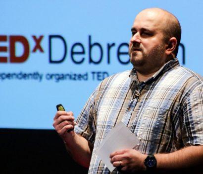 Barna a TEDxDebrecen színpadán