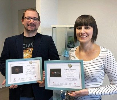 Nemzetközi arculattervezési díjakat nyertünk